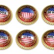 Stock Photo: Mitt Romney Presidential Election 2012 Buttons