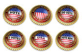 Mitt Romney Presidential Election 2012 Buttons — 图库照片