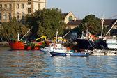 Coast of Bosporus in Istanbul. — Stok fotoğraf