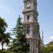 Foto Stock: Clock Tower at DolmBahche Palace