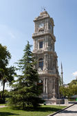 Clock Tower at Dolma Bahche Palace — Zdjęcie stockowe