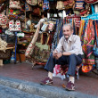 Постер, плакат: Bag seller at the grand bazaar