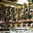 Hookas on display — Stock Photo