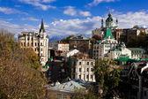 St. Andrew`s Church, Kiev, Ukraine — Stock Photo