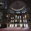 Interior of Blue Mosque / Istanbul, Turkey — Foto Stock #8473668
