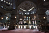 Interior of the Blue Mosque / Istanbul, Turkey — Foto de Stock