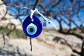 Turkish eye symbol. — Stock Photo