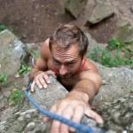 Rock-climber — Stock Photo #9921864