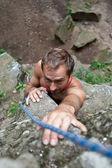 Rock-climber — Stock fotografie