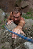Rock-climber — Stock Photo