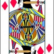Jack playing card — Stock Vector