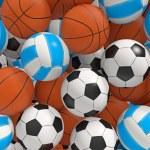Постер, плакат: Sport balls
