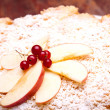 Top Of Apple Cake — Stock Photo #10045816