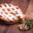 Famous Recipes - Italian Pastiera — Stock Photo