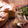 Fresh Neapolitan Pastiera — Stock Photo