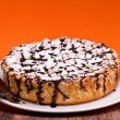 Cheesecake With Chocolate — Stock Photo #10046138