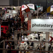 Stock Photo: Stands At Photoshow Rome, 2012