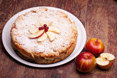 Apples Cake — Stock Photo