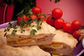 Slice Of Pizza Rustica — Stock Photo