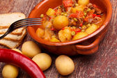 Bowl With Stew — Stock Photo