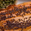 Closeup Of Crust With Poppy Seeds - Stock Photo
