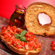 Giant Friselle - Italian Traditional Cuisine — Stock Photo #10247643