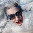 Modern Vampire Frozen - Stock Photo