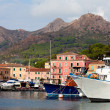 Boats At Porto Azzurro, Elba Island, Italy — Stock Photo