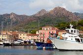 Boats At Porto Azzurro, Elba Island, Italy — Stock Photo