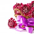 Beautiful bouquet of carnations - Foto de Stock
