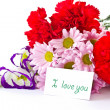 A bouquet of beautiful flowers — Stock Photo