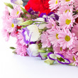 Stock Photo: A bouquet of beautiful flowers