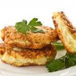 Vegetable pancakes — Stock Photo #7986057