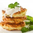 Vegetable pancakes — Stock Photo #7986058