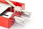 Lock with keys — Stock Photo