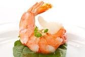 Large shrimp — Stock Photo