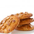 Stock Photo: Nut cookies with peanuts