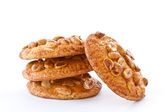 Nut cookies with peanuts — Stock Photo