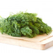 Stock Photo: Fresh green bunch of dill
