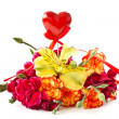 Stock Photo: Bouquet with heart