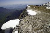 Mountain ridge on Macedonia — Stock Photo