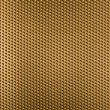 Golden metal grid or grate background — Stock Photo