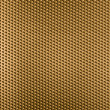 Stock Photo: Golden metal grid or grate background