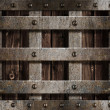Stock Photo: Metal background