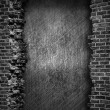 Grunge brick wall background - Photo