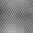Diamond metal floor industrial background — Stock Photo