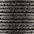Stock Photo: Grunge metal grate industrial background