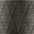 Photo: Grunge metal grate industrial background