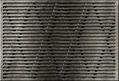 グランジ金属格子産業背景 — ストック写真