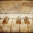 Vintage piano background — Foto de Stock